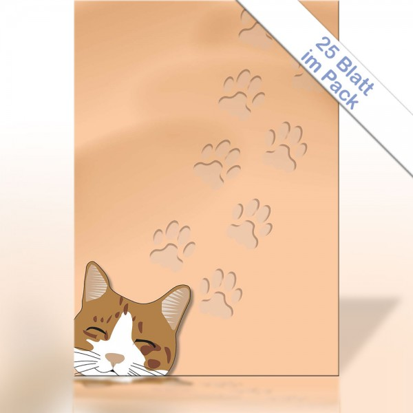 Motiv-Briefpapier SMILE KITTEN A4 90g/m²