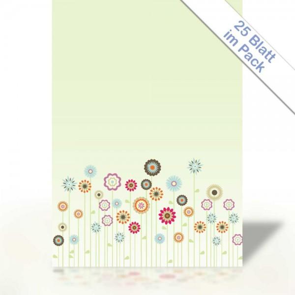 Motiv-Briefpapier BRIGHT SPRING FLOWER DIN A4 90g/m²