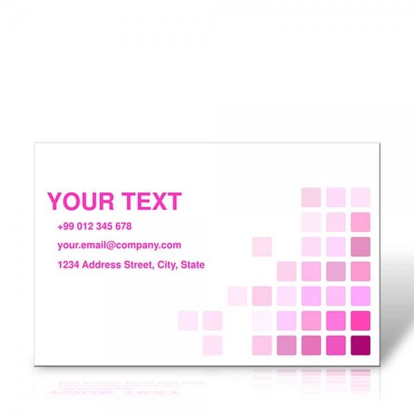 Visitenkarten 85 x 55mm quer, 2 Seite, 4/4-farbig, 400g/m² Bilderdruck
