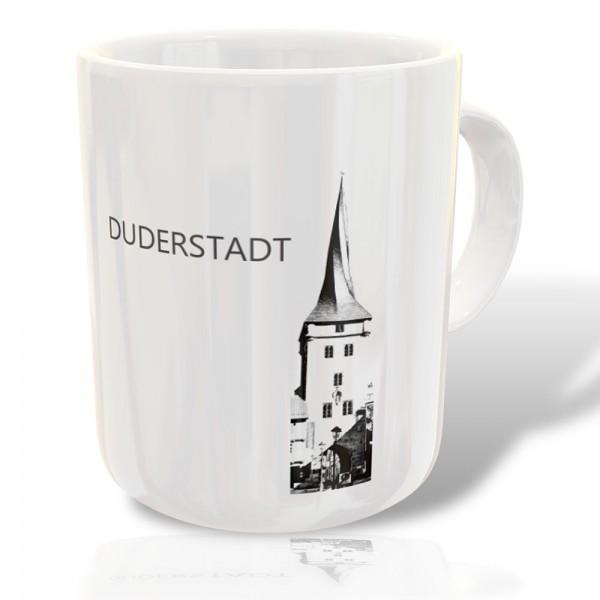 """Bedruckte Tasse Westerturm Duderstadt"""""""