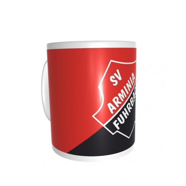 "Bedruckte Tasse ""SV Arminia Fuhrbach"""