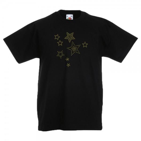 Strass T-Shirt für Kinder F140K