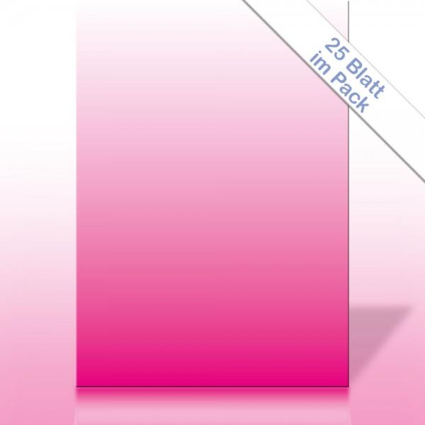 Verlaufspapier MAGENTA DIN A4 90g/m²
