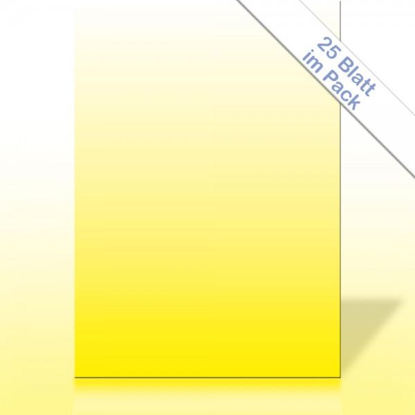 Verlaufspapier GELB DIN A4 90g/m²