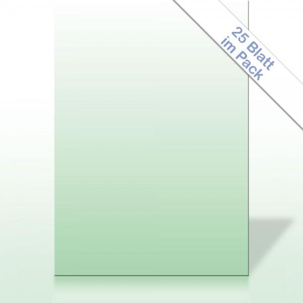 Verlaufspapier MINZGRÜN DIN A4 90g/m²