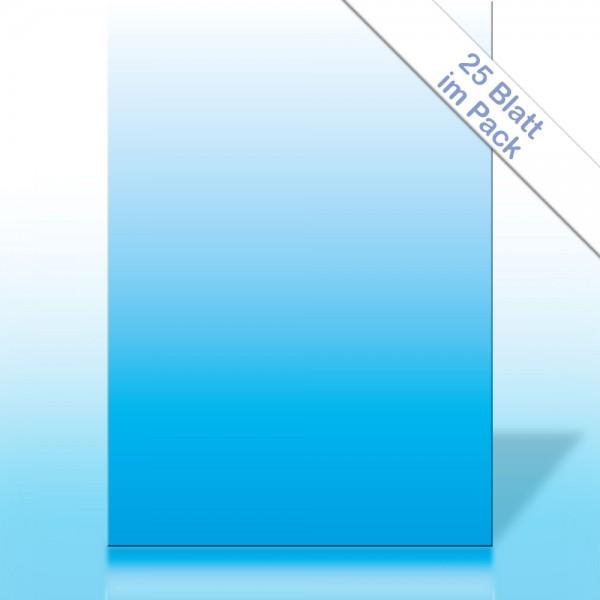 Verlaufspapier CYAN DIN A4 90g/m²