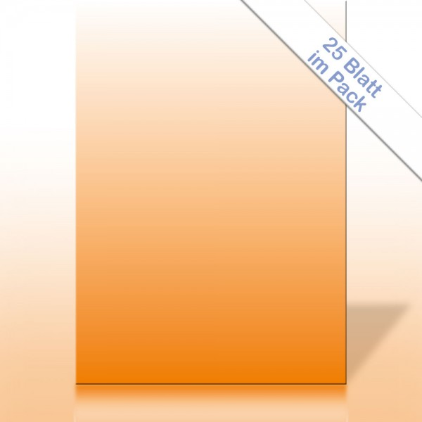 Verlaufspapier ORANGE DIN A4 90g/m²