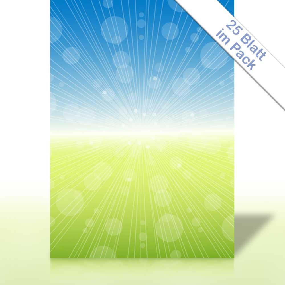 Motiv-Briefpapier SPRING BURST DIN A4 90g//m²
