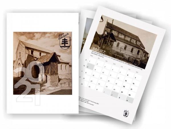 """Der neue """"Mein Fuhrbach"""" Fotokalender 2021 von anno dazumal - herausgebracht vom Ortsrat Fuhrbach"""