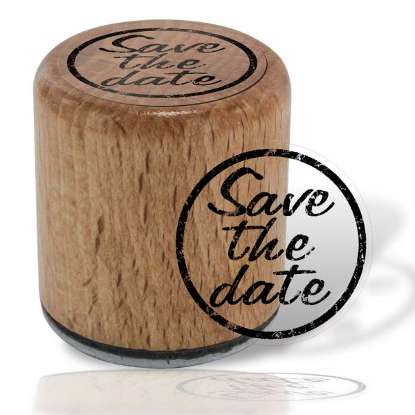 Hölzli Motiv Stempel - Save the Date
