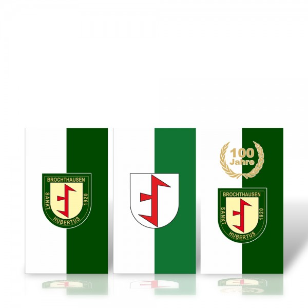 "Bannerfahne hochformat ""Brochthausen"""