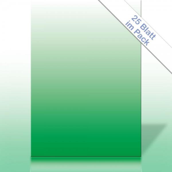 Verlaufspapier GRÜN DIN A4 90g/m²