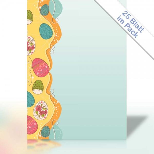 Motiv-Briefpapier VINTAGE EASTER EGG DIN A4 90g/m²