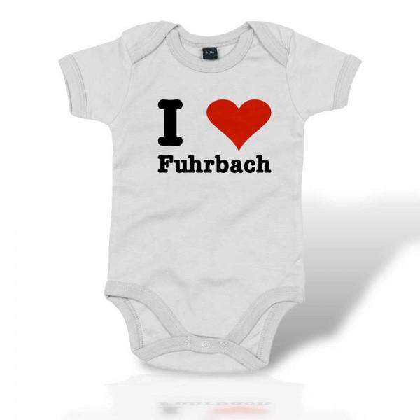 "Baby Bodysuit ""I Love Fuhrbach"""