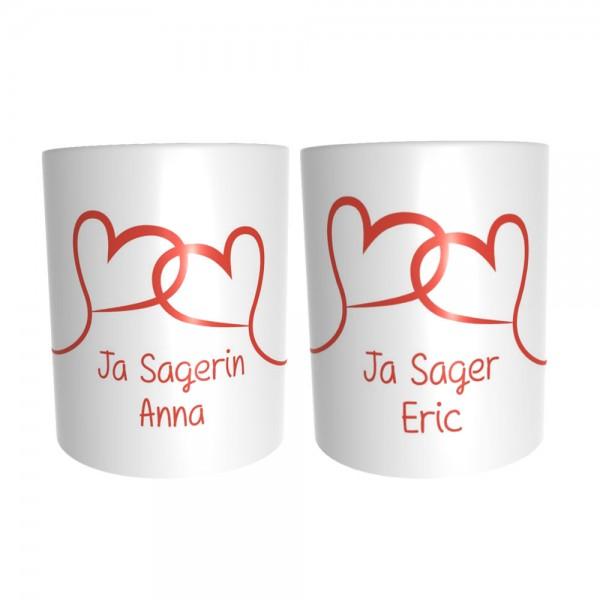 """""""Ja Sager"""" 2 Tassen im Set"""